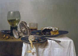 Still Life on a Table | Claesz Heda | Painting Reproduction