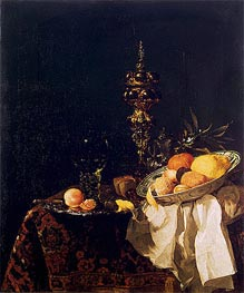 Dessert | Willem Kalf | Painting Reproduction
