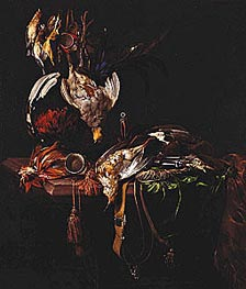 Dead Game with Trophies of the Chase | Willem van Aelst | Painting Reproduction