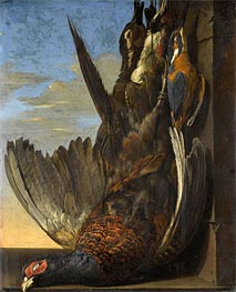Still Life Of Game with A Pheasant | Willem van Aelst | Painting Reproduction