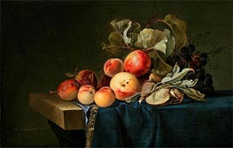 Fruit Still Life, 1650 by Willem van Aelst | Painting Reproduction