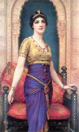 An Egyptian Beauty, undated von William Clarke Wontner | Gemälde-Reproduktion