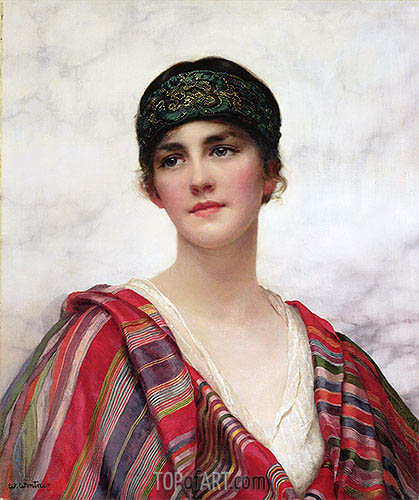 Cyrene, undated | William Clarke Wontner | Painting Reproduction