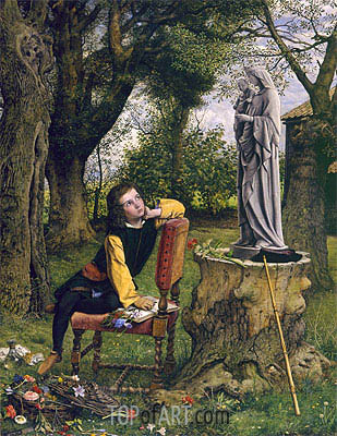 Titian Preparing to make his First Essay in Colouring, 1856   William Dyce   Painting Reproduction