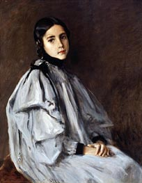 Dieudonnee, c.1899 von William Merritt Chase | Gemälde-Reproduktion