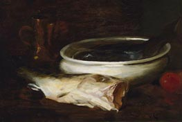 Fish and Still Life | William Merritt Chase | Painting Reproduction