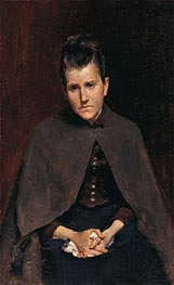 Well I Should Not Murmur, For God Judges Best (Mrs. David Hester Chase, The Artists Mother), c.1878 von William Merritt Chase | Gemälde-Reproduktion