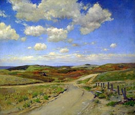 Shinnecock Hills, c.1895 von William Merritt Chase | Gemälde-Reproduktion
