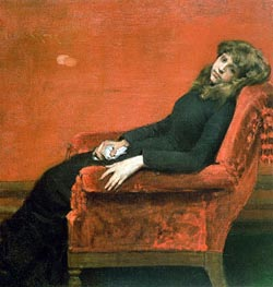 Study of a Young Girl | William Merritt Chase | Painting Reproduction