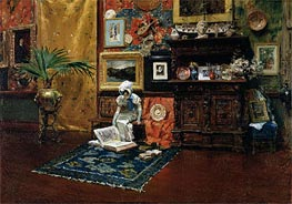 In the Studio, c.1882 von William Merritt Chase | Gemälde-Reproduktion