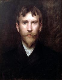 Robert Blum, 1888 von William Merritt Chase | Gemälde-Reproduktion