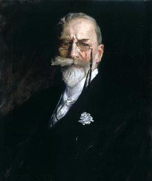 Self Portrait, c.1914 von William Merritt Chase | Gemälde-Reproduktion