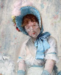 Harriet Hubbard Ayer, 1880 von William Merritt Chase | Gemälde-Reproduktion