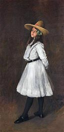 Dorothy, 1902 by William Merritt Chase | Painting Reproduction