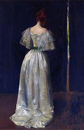 Seventeenth Century Lady, c.1895 von William Merritt Chase | Gemälde-Reproduktion