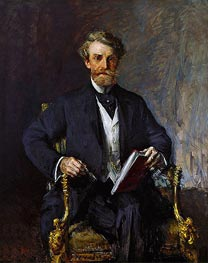 William Andrews Clark, c.1915 by William Merritt Chase | Painting Reproduction
