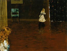 Hide and Seek | William Merritt Chase | Painting Reproduction