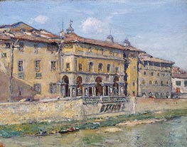 Florence | William Merritt Chase | Painting Reproduction