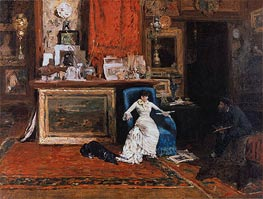 The Tenth Street Studio | William Merritt Chase | Painting Reproduction