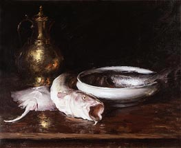 Still Life | William Merritt Chase | Painting Reproduction