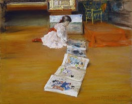 Shinnecock Studio Interior, 1892 by William Merritt Chase | Painting Reproduction