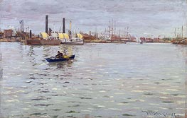 The East River | William Merritt Chase | Gemälde Reproduktion