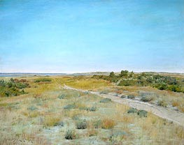 First Touch of Autumn | William Merritt Chase | Painting Reproduction