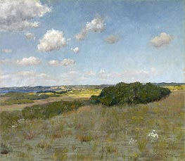 Sunlight and Shadow, Shinnecock Hills | William Merritt Chase | Gemälde Reproduktion