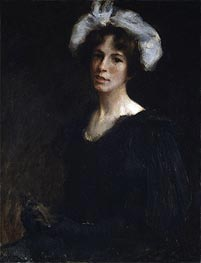 Bessie Potter | William Merritt Chase | Gemälde Reproduktion