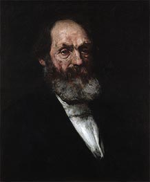 Portrait of Edward Everett Hale, c.1884 by William Merritt Chase | Painting Reproduction