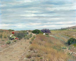 The Old Sand Road, c.1894 by William Merritt Chase | Painting Reproduction