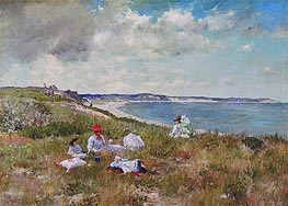 Idle Hours, c.1894 by William Merritt Chase | Painting Reproduction