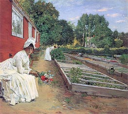 The Nursery, 1890 by William Merritt Chase | Painting Reproduction