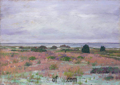 Near the Beach, Shinnecock, c.1895 | William Merritt Chase | Painting Reproduction