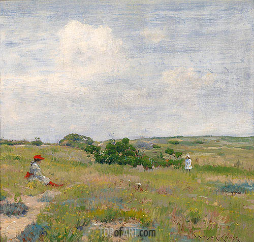 Shinnecock Hills, c.1895 | William Merritt Chase | Gemälde Reproduktion