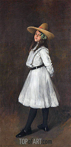 Dorothy, 1902 | William Merritt Chase | Gemälde Reproduktion