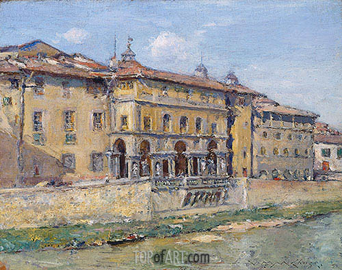 Florence, undated | William Merritt Chase | Painting Reproduction