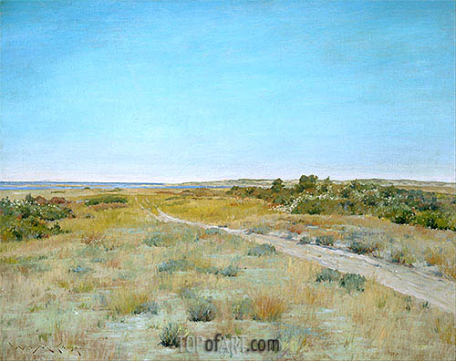 First Touch of Autumn, c.1898 | William Merritt Chase | Painting Reproduction