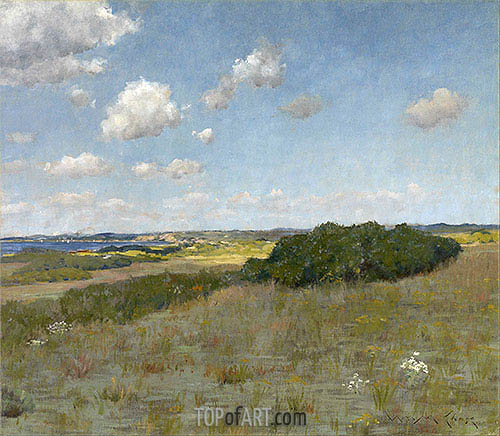 Sunlight and Shadow, Shinnecock Hills, undated | William Merritt Chase | Painting Reproduction
