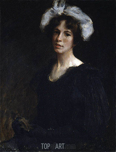 Bessie Potter, c.1895 | William Merritt Chase | Painting Reproduction