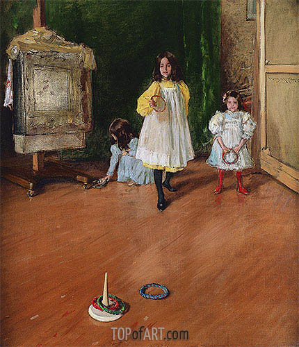 Ring Toss, 1896 | William Merritt Chase | Painting Reproduction