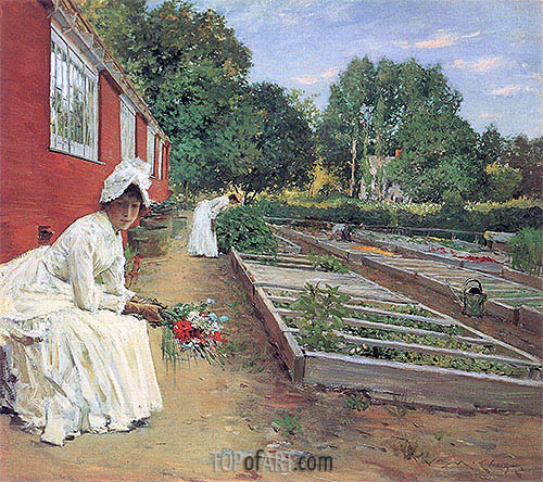 The Nursery, 1890 | William Merritt Chase | Painting Reproduction