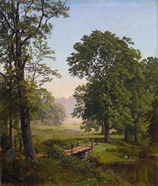 Landcape near Frankfort, Pennsylvania | William Trost Richards | Painting Reproduction