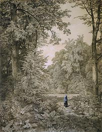 Landscape with Figure | William Trost Richards | Painting Reproduction