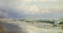 New Jersey Seascape - Atlantic City | William Trost Richards | Painting Reproduction
