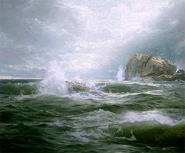 Clearing after the Storm, 1889 by William Trost Richards | Painting Reproduction