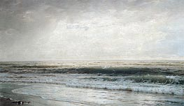 New Jersey Beach, 1901 by William Trost Richards | Painting Reproduction