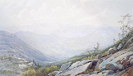 The Mount Washington Range, from Mount Kearsarge, 1872 by William Trost Richards | Painting Reproduction