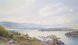 Lake Squam and the Sandwich Mountains, 1872 by William Trost Richards | Painting Reproduction