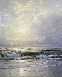 Morning, Sea View, undated by William Trost Richards | Painting Reproduction
